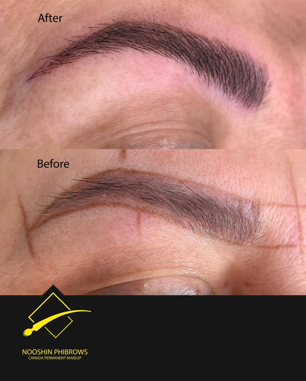 What is eyebrow Phibrows and how is it done? – Microblading – Canada Makeup – eyebrow Phibrows – IMG 4564 min – Canada Makeup – NOOSHIN JAVAHERIAN