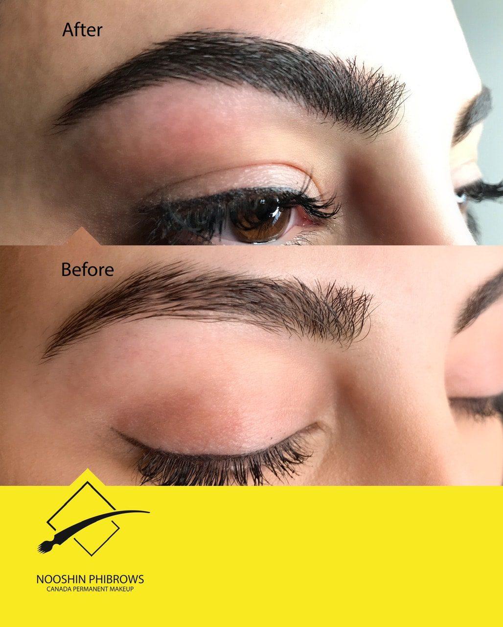 FLUFFY Eyebrow MICROBLADING (CODE: MB6) – Canada Makeup – IMG 4569 min – Canada Makeup – NOOSHIN JAVAHERIAN
