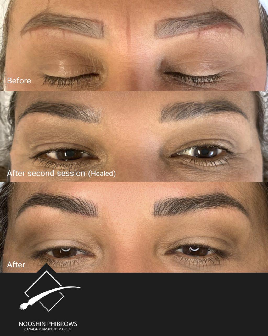 PHIBROWS PIGMENT SUP BROWN 2+3 (CODE: MB11) – Canada Makeup – IMG 5530 min – Canada Makeup – NOOSHIN JAVAHERIAN