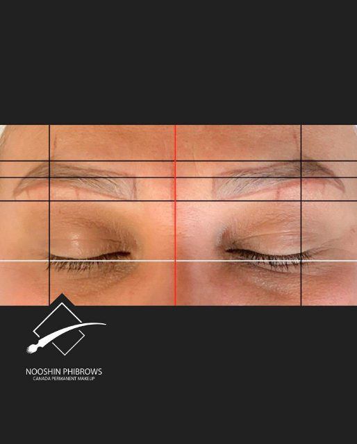 Make perfect brows shape with phiapp