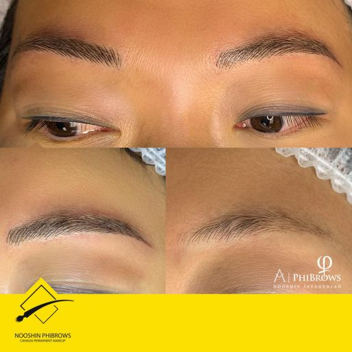 Asian style eyebrows