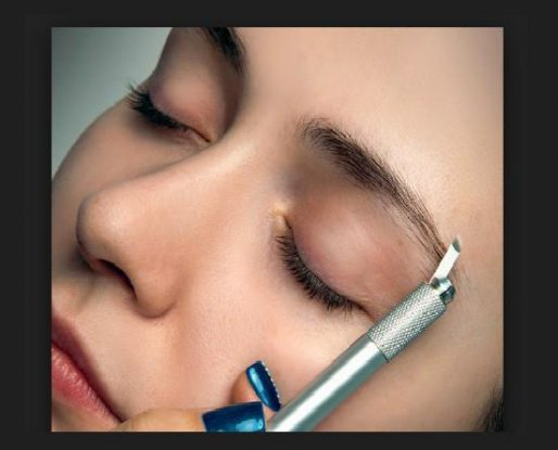 Complications associated with Microblading