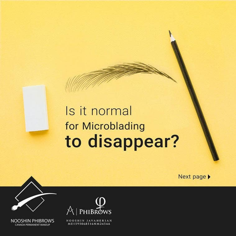 Is it normal for Microblading to disappear? – Canada Makeup – Is it normal for Microblading to disappear 759x759 min – Canada Makeup – NOOSHIN JAVAHERIAN