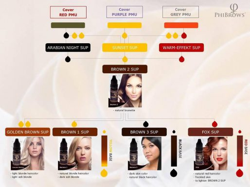 Basic Division of Microblading Pigments