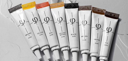 PhiBrows Microblading Pigments Formulation & PhiBrows Color Chart
