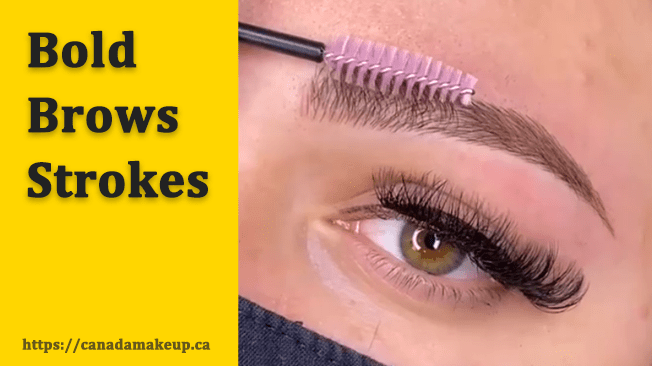 Bold Brows Strokes, Phibrows Pigment Supe Brown 2 & 3