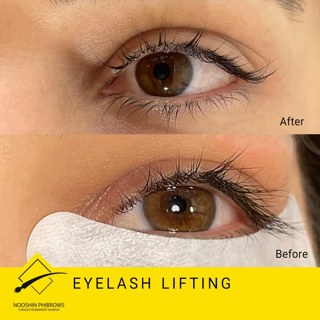 Lashes Lifting in Canada