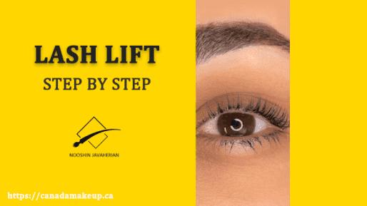 Lash Lift: Step by Step