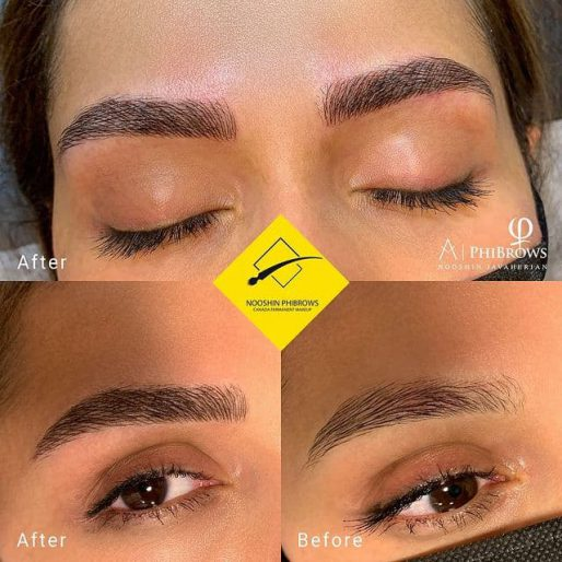 Beautiful Thick,natural brows for my lovely client (CODE: MB35) – Canada Makeup – beautiful thicknatural brows for my lovely client – Canada Makeup – NOOSHIN JAVAHERIAN
