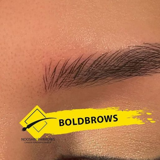 Bold Brows MicroBlading Pattern