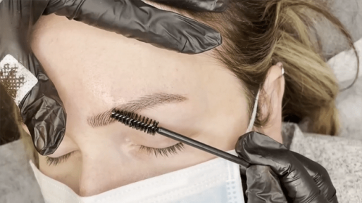 Covered old fade tattoo with Microblading