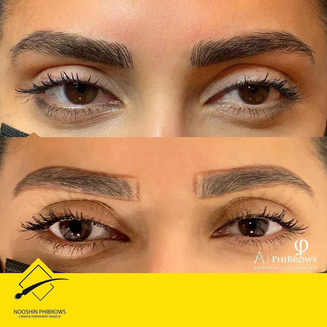 Phibrows microblading pigment supe Brown 2+3