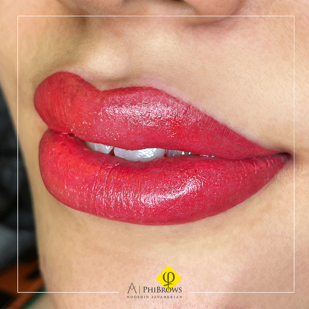 Lip blushing is a type of semipermanent cosmetic tattooing – Canada Makeup – Lip – 2 2 – Canada Makeup – NOOSHIN JAVAHERIAN