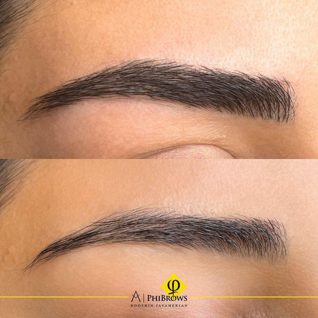 How is the shape of the eyebrow chosen? – Canada Makeup – microblading – 241416052 212365934268165 8214580475036933608 n – Canada Makeup – NOOSHIN JAVAHERIAN