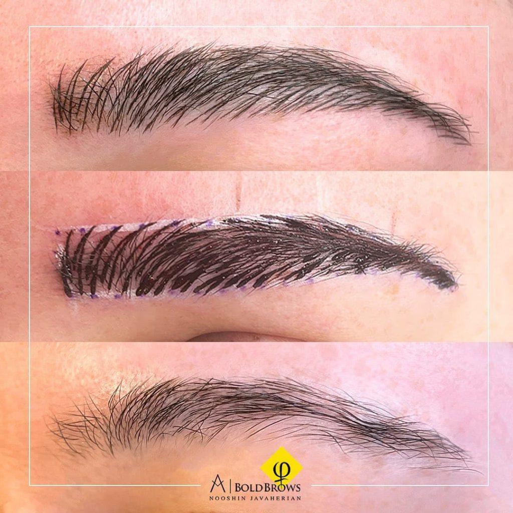 clients' eyebrows – Canada Makeup – eyebrows – photo 2021 09 21 12 46 57 – Canada Makeup – NOOSHIN JAVAHERIAN