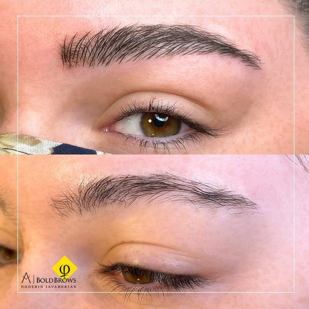 clients' eyebrows – Canada Makeup – eyebrows – photo 2021 09 21 12 47 03 – Canada Makeup – NOOSHIN JAVAHERIAN