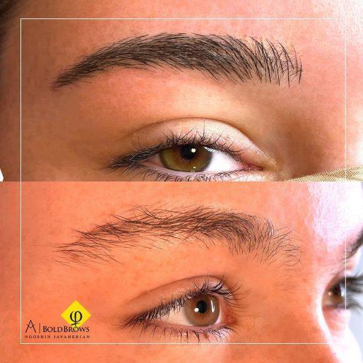 clients' eyebrows – Canada Makeup – eyebrows – photo 2021 09 21 12 47 06 – Canada Makeup – NOOSHIN JAVAHERIAN