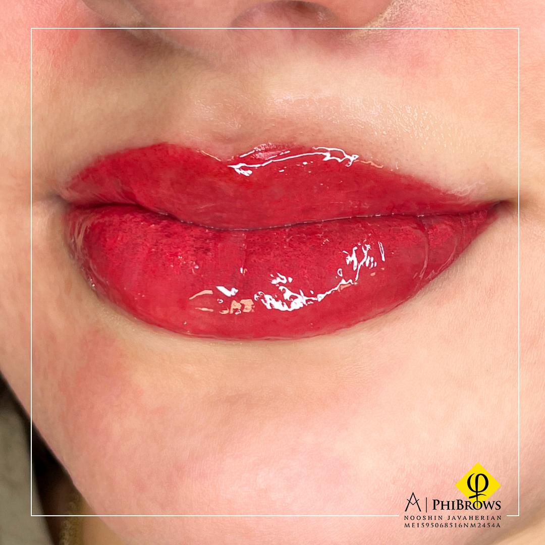 Lip Blushing – Lip blushing – Canada Makeup – Lip Blushing – راست تزریق – Canada Makeup – NOOSHIN JAVAHERIAN