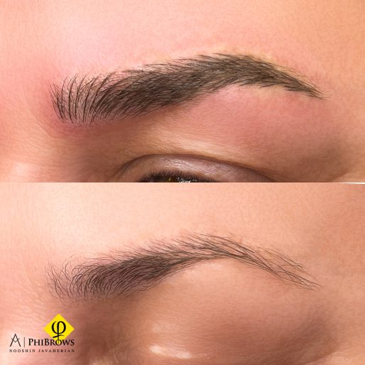 Eyebrow microblading – Canada Makeup – Eyebrow microblading – چپ 2 – Canada Makeup – NOOSHIN JAVAHERIAN