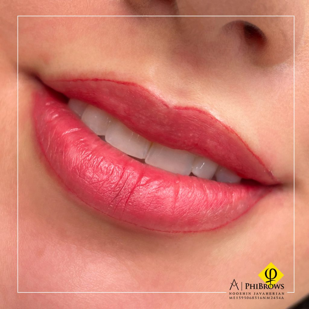 Lip Blushing – Canada Makeup – Lip Blushing – کامل شکل – Canada Makeup – NOOSHIN JAVAHERIAN